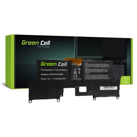 Green Cell Laptop akkumulátor VGP-BPS37 Sony Vaio Pro 11