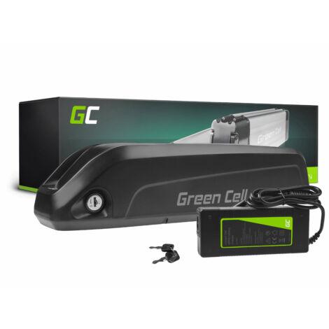 Green Cell Elektromos kerékpár akkumulátor 36V 10.4Ah 374.4Wh E-Bike Pedelec Down Tube töltővel