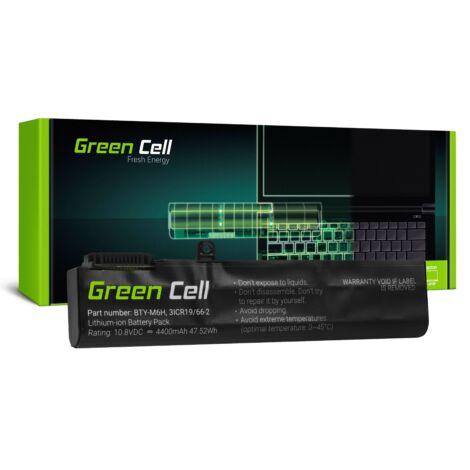 Green Cell Laptop akkumulátor BTY-M6H MSI GE62 GE63 GE72 GE73 GE75 GL62 GL63 GL73 GL65 GL72 GP62 GP63 GP72 GP73 GV62 GV72 PE60 PE70