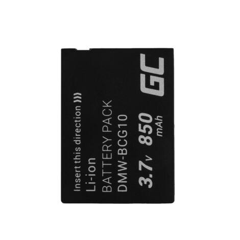 Digitális kamera akkumulátor Panasonic Lumix DMC-FT5 DMC-TS5 DMC-TZ40 DMC-TZ60 DMC-ZS30 DMC-ZS40 DMC-ZS50 3.7V 1050mAh