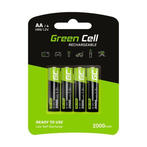 Green Cell akkumulátor 4x AA HR6 2000mAh