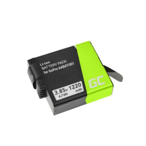 Green Cell kamera akkumulátor AHDBT-501 AABAT-001 GoPro HD HERO5 HERO6 HERO7 Black 3.85V 1220mAh