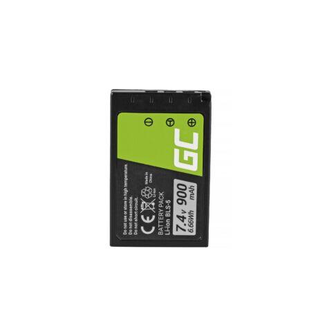 Green Cell Digitális Kamera akkumulátor Olympus OM-D E-M10 E-PL5, E-PL6, E-PL7, E-PM2, Stílus 1 7.4V 900mAh, PEN E-PL2,