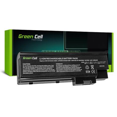 Green Cell Laptop akkumulátor Acer Aspire 5620 7000 9300 9400 TravelMate 5100 5110 5610 5620 14.4V
