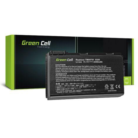 Green Cell Laptop akkumulátor Acer TravelMate 5220 5520 5720 7520 7720 Extensa 5100 5220 5620 5630 11.1V