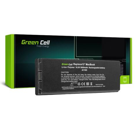 Green Cell Laptop akkumulátor A1185 Apple MacBook 13 A1181 2006-2009