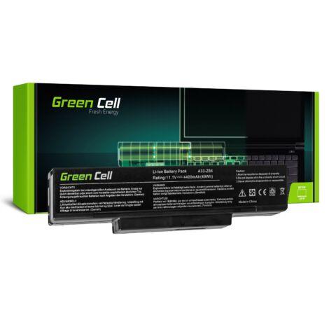 Green Cell Laptop akkumulátor Asus A9 S9 S96 Z62 Z9 Z94 Z96 PC CLUB EnTeljesítmény ENP 630 COMPAL FL90 COMPAL FL92