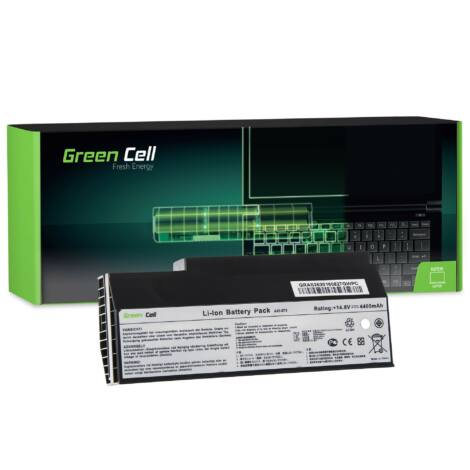 Green Cell Laptop akkumulátor Asus G53 G53SW G73 G73J G73JH G73JW
