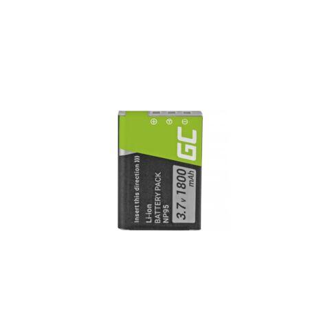 Green Cell Digitális Kamera akkumulátor Fujifilm Finepix X30 X70 X-S1 X100s X100 X100T F30 F31 3.7V 1500mAh