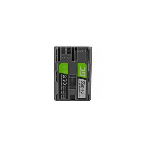 Green Cell Digitális Kamera akkumulátor Canon EOS 5D 20D, 30D, 50D, D30, 300D, G1, G2, G3, G5, Pro 1 7.4V 1600mAh, 10D