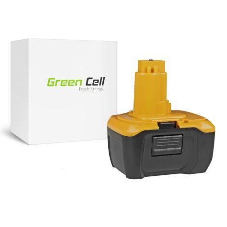 Green Cell Kéziszerszám akkumulátor DeWalt DE9141 DE9140 DC737KL DC733KL DC733C2 14.4V 3Ah