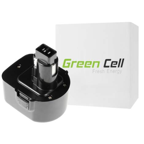 Green Cell Kéziszerszám akkumulátor DeWalt DE9037 DE9071 DE9074 12V 2Ah