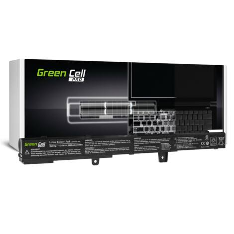 Green Cell Pro Laptop akkumulátor A31N1319 Asus X551 X551C X551CA X551M X551MA X551MAV F551 F551C F551M R512C R512CA R553L