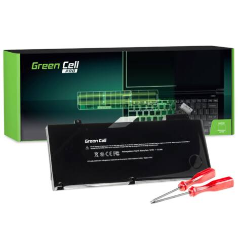 Green Cell Pro Laptop akkumulátor Apple MacBook Pro 13 A1278 (Mid 2009 Early 2011, 2011, 2012), 2010