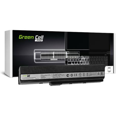 Green Cell PRO Laptop akkumulátor K52 K52J K52F K52JC K52JR K52N X52 X52J A52 A52F