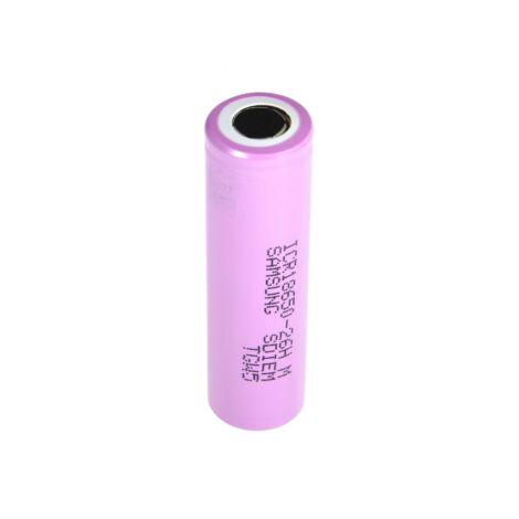 Samsung Li-Ion Cell ICR18650-26H 2600 mAh