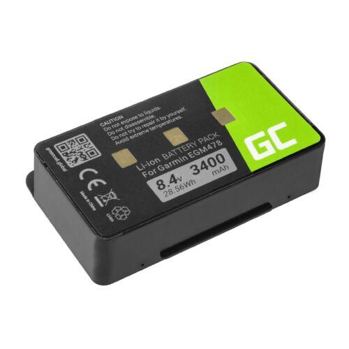 Green Cell GPS akkumulátor 010-10517-00 011-00955-00 GPS Garmin GPSMAP 276 296 376 376c 396 495 496